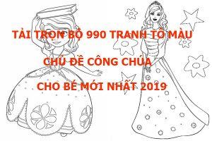 tai-tron-bo-990-tranh-to-mau-chu-de-cong-chua-cho-be