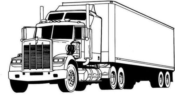hình tô màu phương tiện giao thông đường bộ