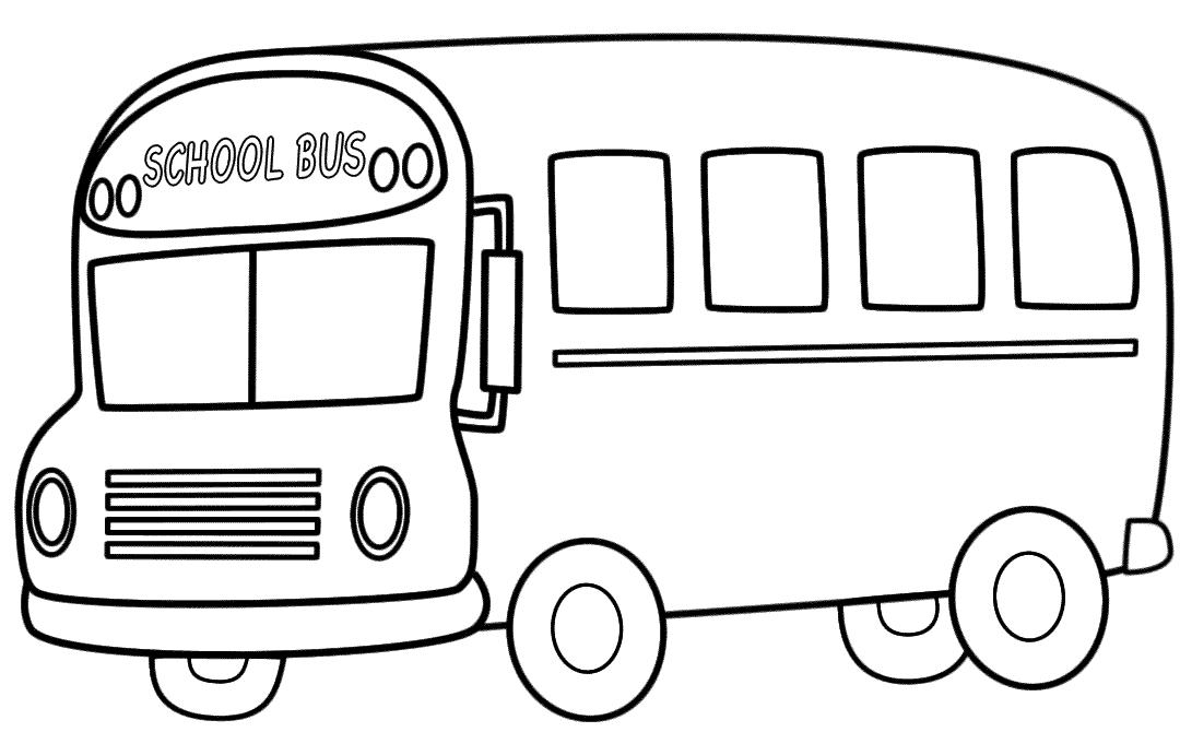 tranh tô màu phương tiện giao thông đường bộ